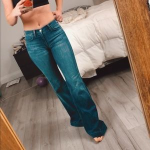 GINGER flared jeans by 7 For All Mankind, Aritzia